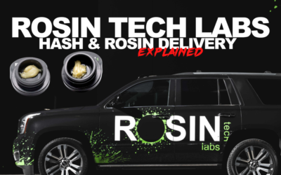ROSIN TECH LABS LIVE ROSIN DELIVERY
